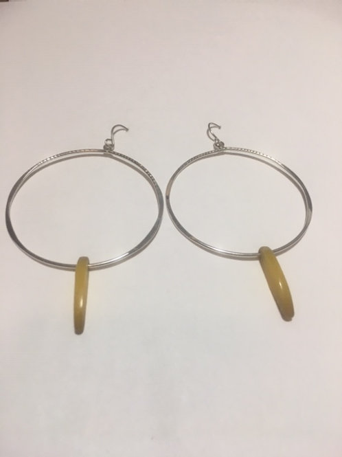 AE23 African Amber Earrings
