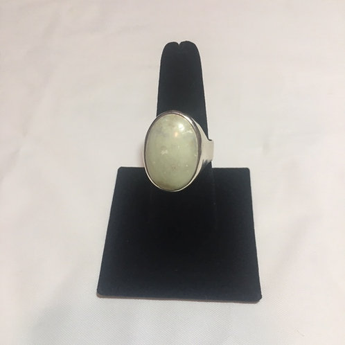RS69 Agate Stone Sterling Silver Ring