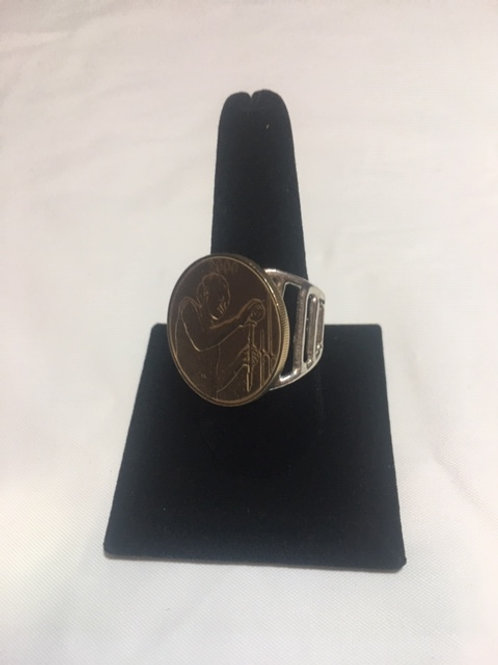 RS59 West African Coin Sterling Silver