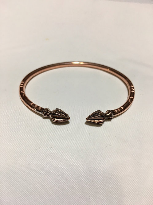 BC20 100% Copper Coco Palm Bracelet