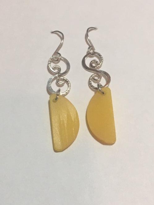 AE5 African Amber Earrings