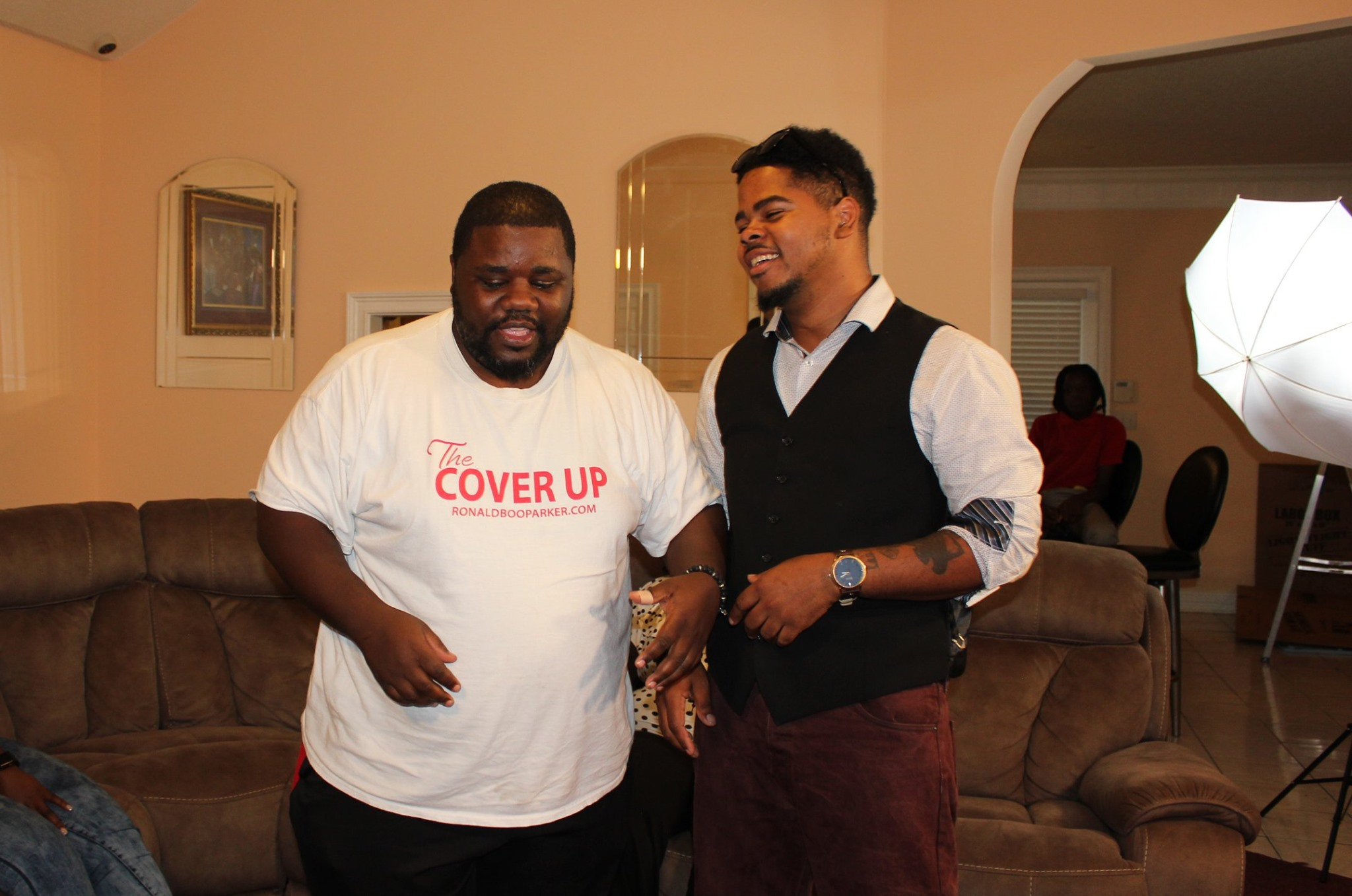 The Cover up film Shot 3