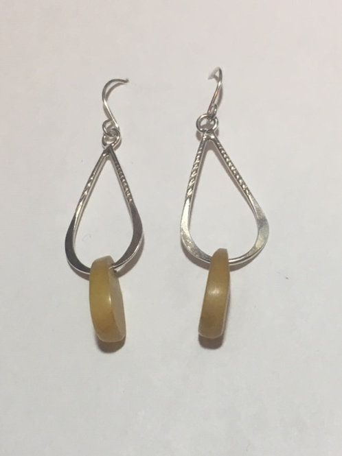 AE3 African Amber Earrings