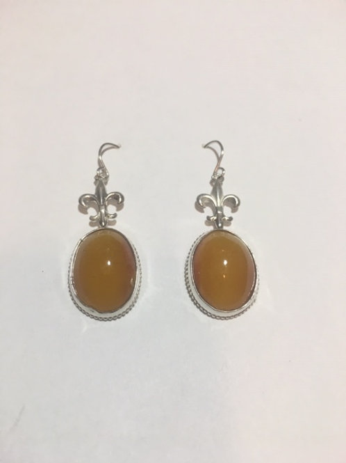 AE13 African Amber Earrings