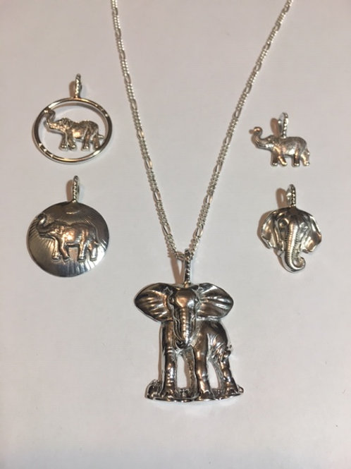 NS1 Elephant Pendant Necklace