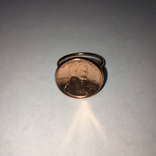 MC3 Unisex Jewelry Penny Ring Real US Coins