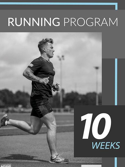 10 WEEK RUNNING PLAN