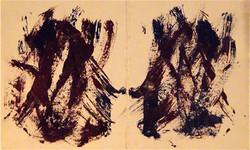 Untitled (Figures Holding Hands)