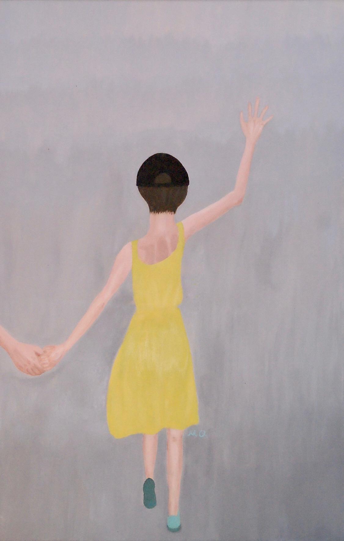 Child in Yellow Sundress