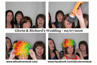 Birmingham Photo Booth Hire : Gloria and Rich