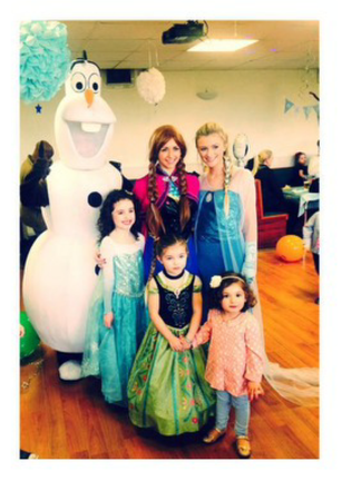 Frozen Character Parties Birmingham, Sutton Coldfield, Tamworth, Staffordshire, Dudley, Walsall!