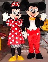 mickey and minnie mouse appearances