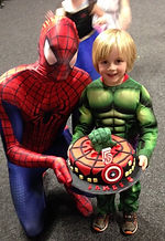spiderman appearances birmingham