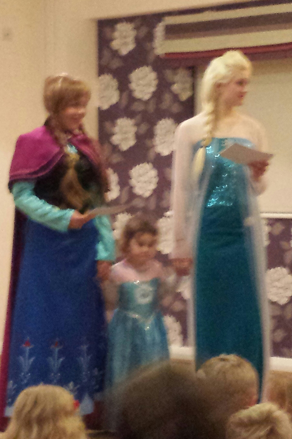 anna and elsa meet and greet frozen appearances