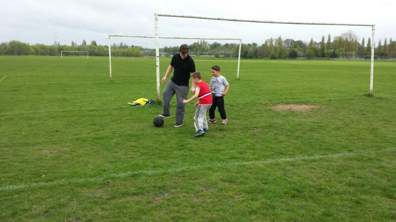 kid's football parties birmingham