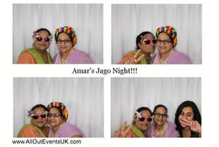 Photo Booth Hire Birmingham : Amar's Jago Night!!