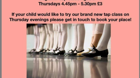 Baby Tap Classes Mere Green