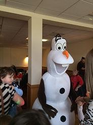 olaf appearances birmingham frozen