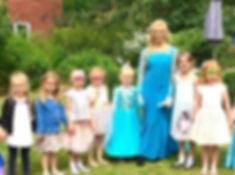 Elsa appearances frozen birmingham
