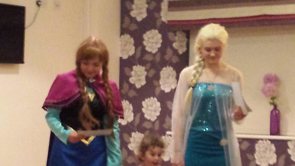 anna and elsa appearances birmingham, frozen meet and greet
