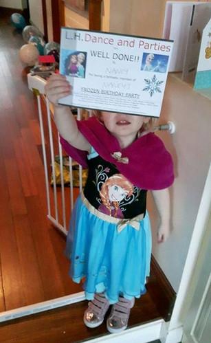 Children's Frozen Party and Bouncy Castle
