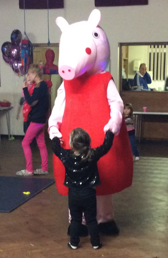 peppa pig meet and greet appearances