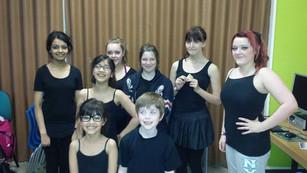 L.H.Dance Perform Alongside Motionhouse Dance!