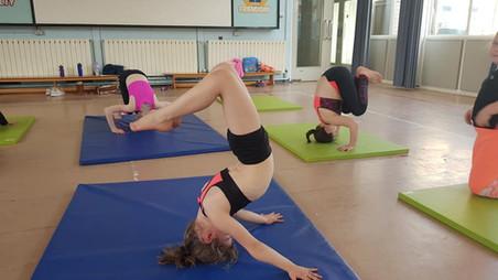 Acrobatic Dance Classes Mere Green!