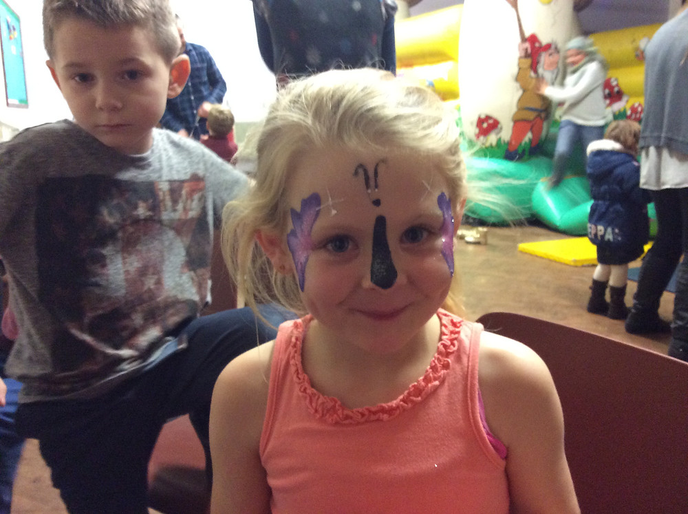 face painter children's birthday parties