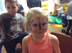 Butterfly Face Paints