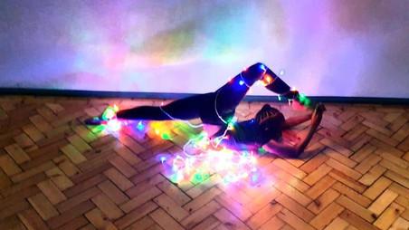 L.H.Dance Christmas Light Photoshoot