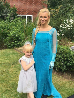Elsa and Frozen appearances Birmingham