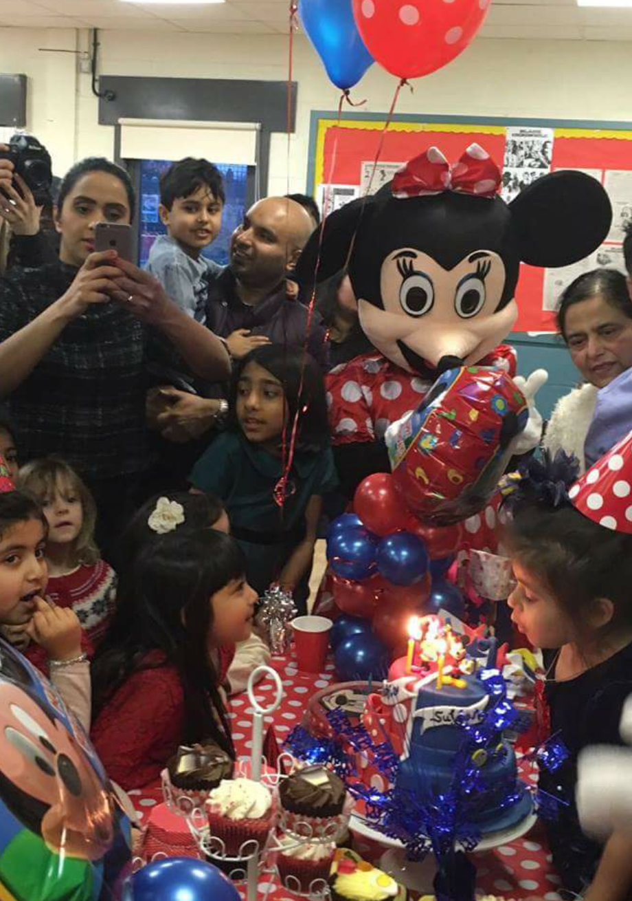 mickey and minnie mouse themed birthdays