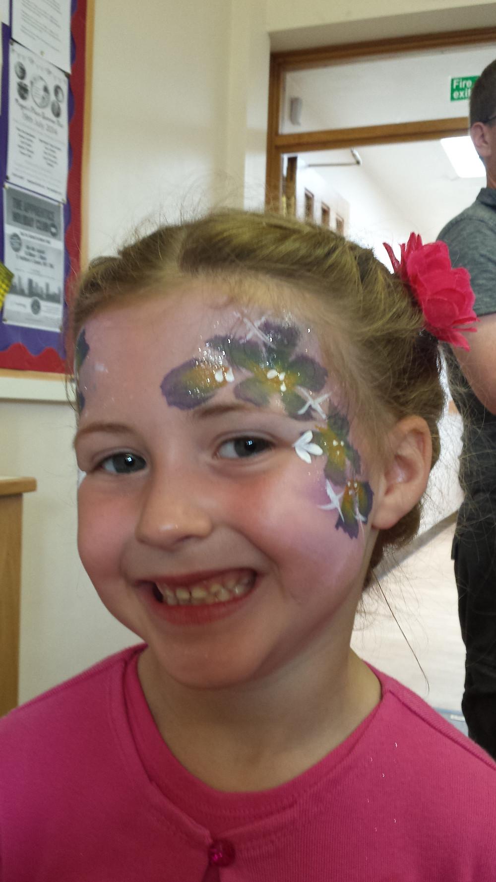 face painter children's dance party
