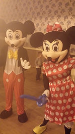 Mickey and Minnie Mouse Appearances Birmingham