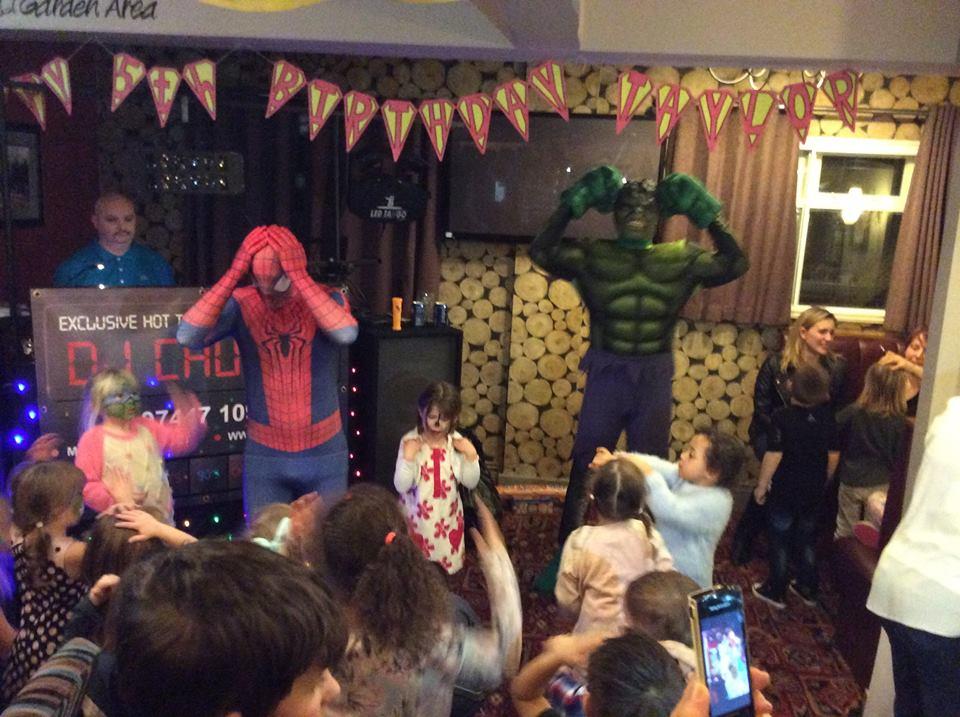 kids party ideas birmingham