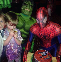 superhero football parties superhero parties