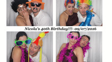 Photo Booth Hire Birmingham : Nicola's 40th Birthday!!