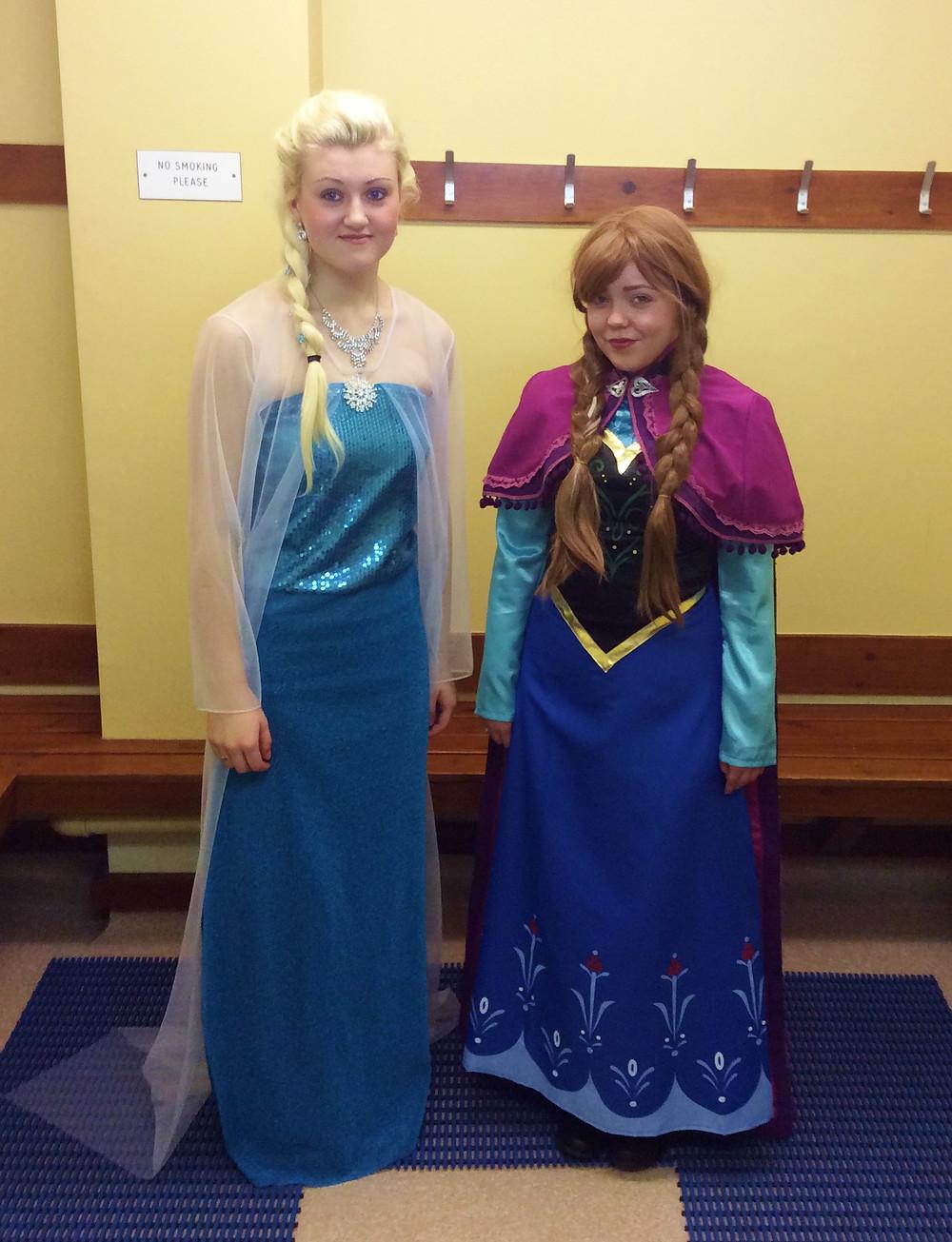 Frozen character Appearances birmingham