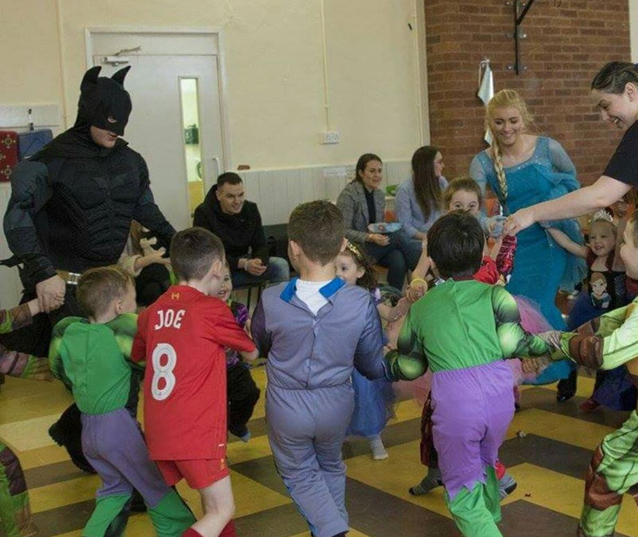 superhero parties birmingham