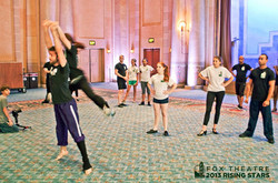 Choreographer for The Rising Stars