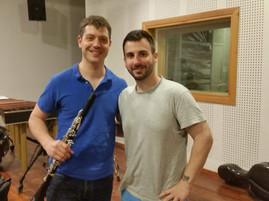 Clarinetist Danny Erdman and composer Michael Seltenreich