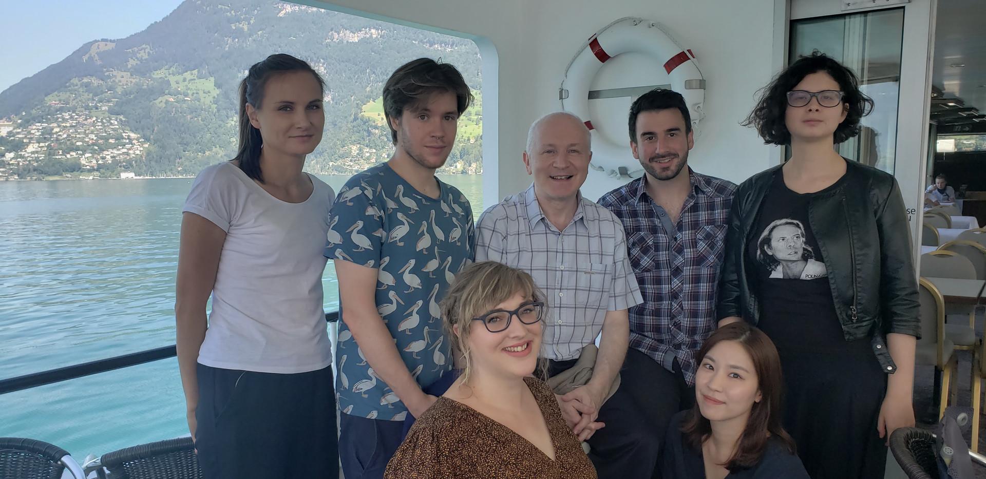 Lucerne Composers with Sir George Benjamin