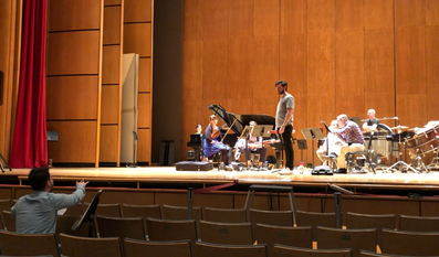 Seltenreich and Sound Icon in Rehearsal