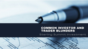 Common Investor and Trader Blunders