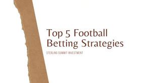 Top 5 Football Betting Strategies in 2021