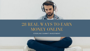HOW TO MAKE MONEY ONLINE: 28 REAL WAYS TO EARN MONEY ONLINE