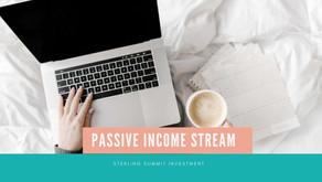 How to create a passive income stream