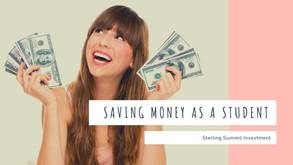 Saving money as a student