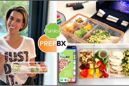 Pre-Order PrepBX Lunchbox • Includes 1 Container & 1 Carry Case